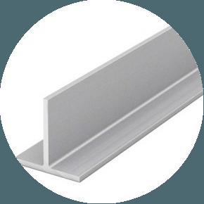 Тавр алюминиевый